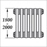 высокие радиаторы (H1800-2000 мм)