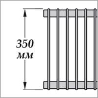 Zehnder Excelsior E2035 (высота 350 мм)