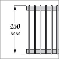 Zehnder Excelsior E1045 (высота 450 мм)