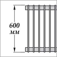 Zehnder Excelsior E1060 (высота 600 мм)