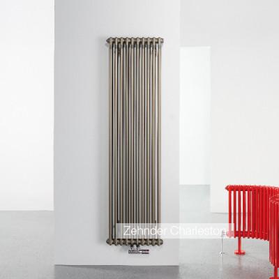 Радиатор ZEHNDER charleston 2180/8 с. (цвет Technoline), нижнее подключение V001