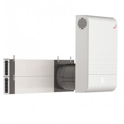 Вентиляционная установка ZEHNDER ComfoAir 70, монтаж через откос окна