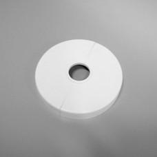 Декоративная крышка в цвет радиатора, диам. 100/30 мм, цвет белый RAL 9016