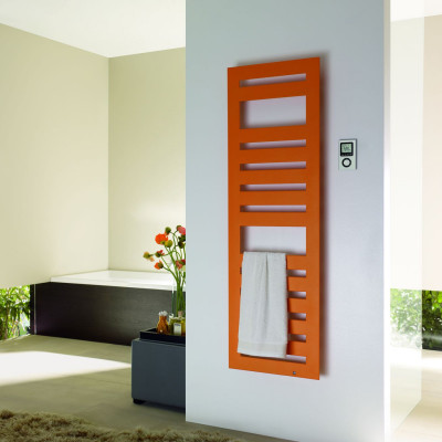 Электрический полотенцесушитель Zehnder Metropolitan Spa 400х1750, цвет RAL9016