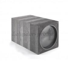 Квадратный кожух для внутристенового монтажа ZEHNDER ComfoSpot 50 (360х360 мм, длина 600 мм)