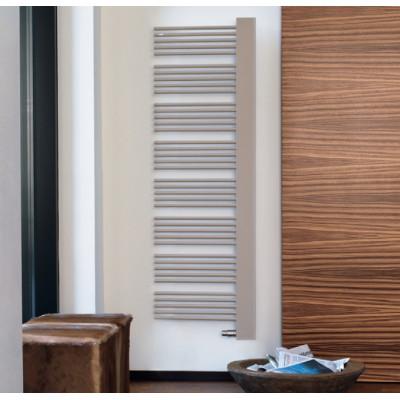 Электрический полотенцесушитель Zehnder Yucca Cover 582х1750, левый ТЭН, цвет Special colour, панель хром