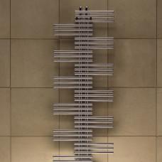 Электрический полотенцесушитель Zehnder Yucca 500х1058, 1-рядный, цвет RAL9016